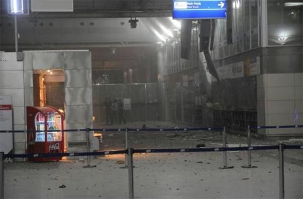 Terrorattentat i Istanbul.